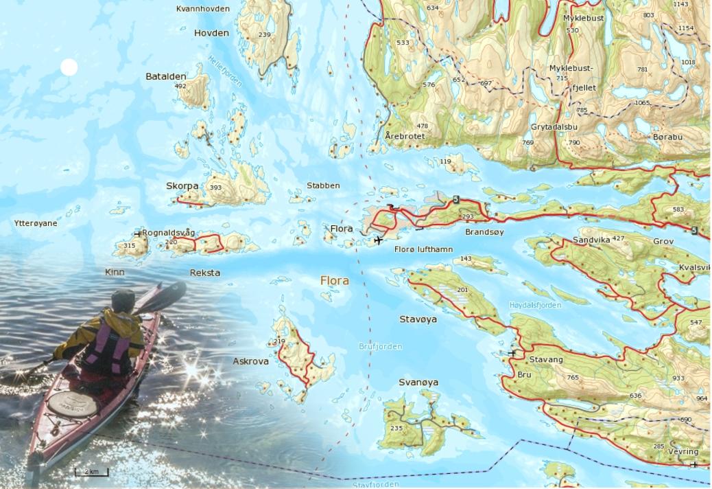 flora kart Flora / Flora and the islands | Mellom tang og topper / Home flora kart