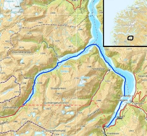 kart nærøyfjorden Nærøyfjorden / world heritage fjord | Mellom tang og topper / Home kart nærøyfjorden